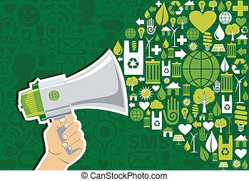 Ve al mercado de medios sociales verdes