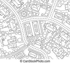vecindad, contorno