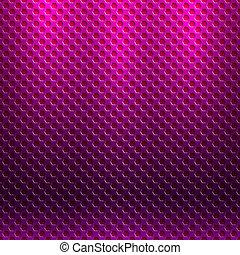 Vector abstracto patrón metálico sin costura con rejilla hexágono