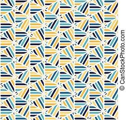 Vector azul, amarillo, amarillo blanco, líneas de cordillera de cordones