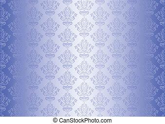 Vector azul papel tapiz