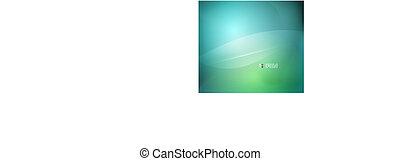 Vector azul verde fondo abstracto