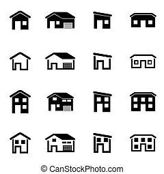 Vector Black House set