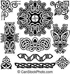 Vector Celtico, Aclección Artística.