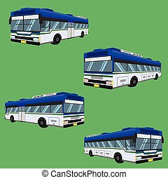 vector, colchón, conductor, 3d, carril, omnibus, cabezal, banco, sillón, tarifa, autobus, almohadilla, taburete, silla, hassock, pasajero, autobús, asiento, ilustración, entrenador