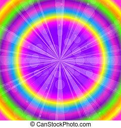 Vector colorido fondo abstracto