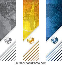 Vector comercial: concepto global
