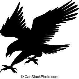 Vector de águila