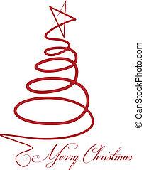 Vector de árbol de Navidad