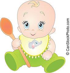 Vector de bebés