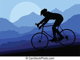 Vector de bicicletas para bicicletas deportivos