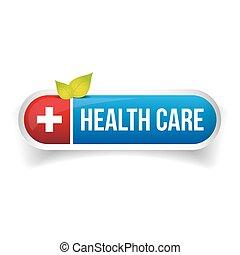 Vector de botones de sanidad