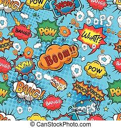 Vector de burbujas de habla cómica