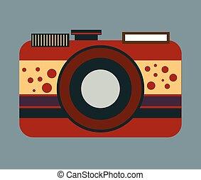 Vector de cámara