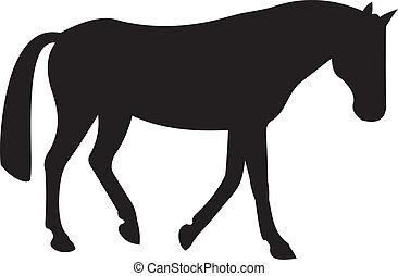 Vector de caballos