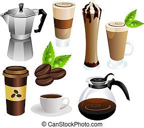 Vector de café listo