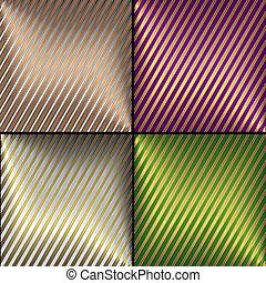 Vector de colección de antecedentes de rayas diagonales