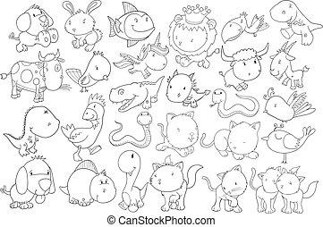 Vector de dibujos animados