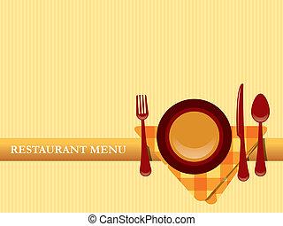 Vector de diseño del restaurante