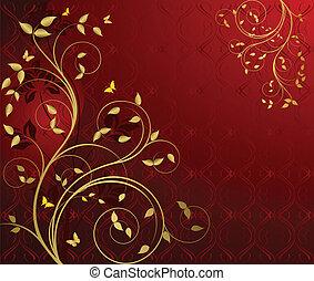 Vector de diseño floral