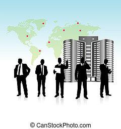 Vector de equipo de negocios