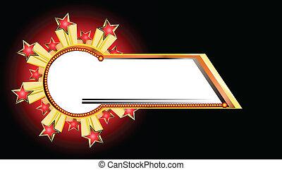 Vector de explosión estelar