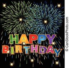 Vector de feliz diseño de cumpleaños