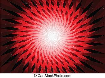 Vector de fondo abstracto rojo