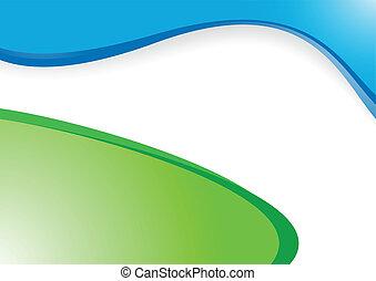 Vector de fondo azul verde