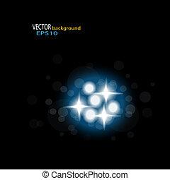 Vector de fondo brillante EPS 10