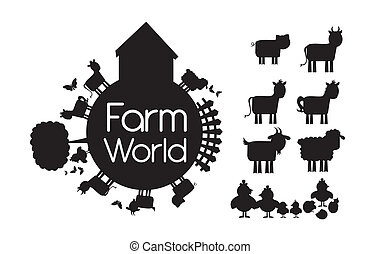 Vector de granja