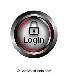 Vector de icono de botón de inicio