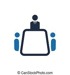 Vector de icono de negocios