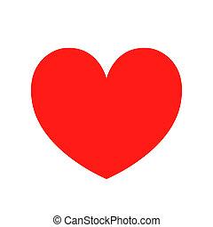 vector de icono del corazón