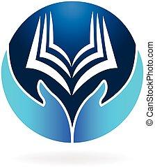 Vector de logo de educación