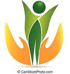 Vector de logo de icono de salud