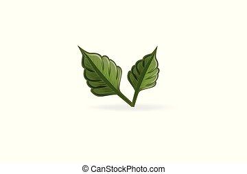 Vector de logo de la naturaleza