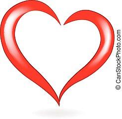 vector de logo de San Valentín