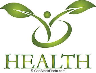 Vector de logo de vida saludable