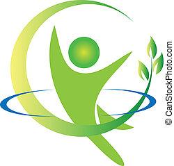 Vector de logotipo de la salud