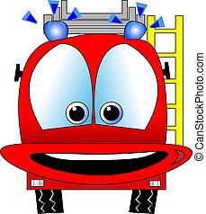Vector de motores de incendio