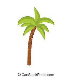 Vector de palmera