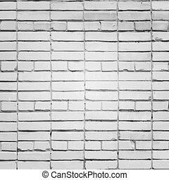 Vector de pared blanca de ladrillos