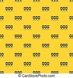 Vector de patrones de sillas