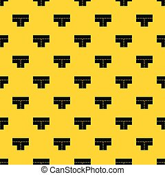 Vector de patrones en forma de cruce
