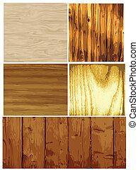Vector de textura de madera