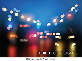 Vector de tráfico de Bokeh
