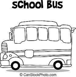 Vector de transporte de la colecta de autobuses