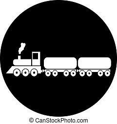 Vector de tren