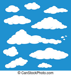 Vector del cielo azul